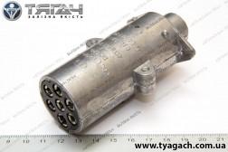 Вилка штепсельна 24В КамАЗ, МАЗ ПС-325 (вир-во БААЗ)