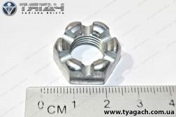 Гайка М12х1,25 корончаста підвіски радіатору КамАЗ (вир-во Б...