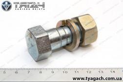 Болт М18х1,5-45х30 кола поворотного спеціальний з гайкою і г...