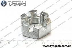 Гайка М24х1,5-6Н КамАЗ корончаста рульового пальця (Росія)