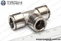 З'єднання трубок T-образне 12мм (метал) (S. I. L. A.)