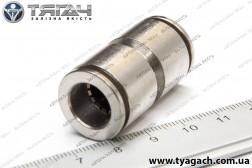 З'єднання трубок пряме 12мм (метал) (S. I. L. A.)