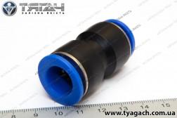 З'єднання трубок пряме 15мм (пластик) (S. I. L. A.)