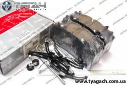 Колодка гальмівного диска (комплект на вісь) SAF (RIDER)