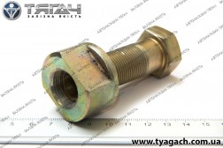 Болт-втулка М20х1,5 вушка ресори МАЗ