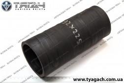 Патрубок інтеркуллера МАЗ (92х225 mm)